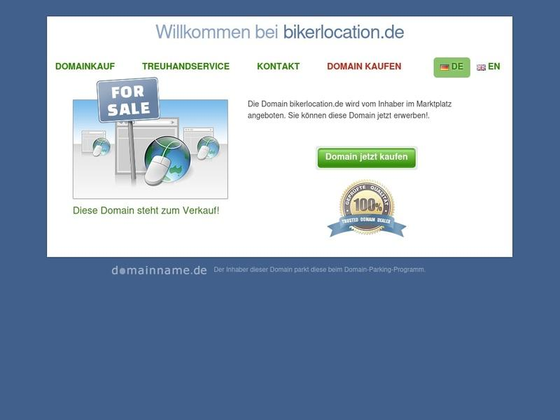 Screenshot von http://www.bikerlocation.de/